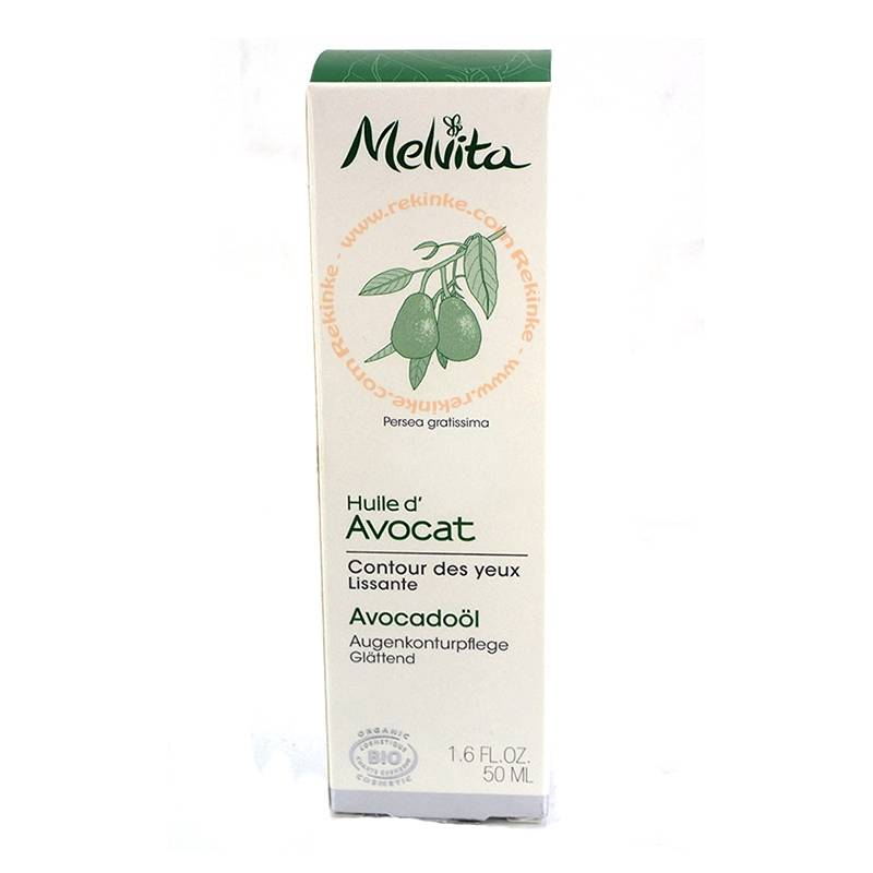 MELVITA Huile Végétale d'Avocat Bio 50ml - Melvita
