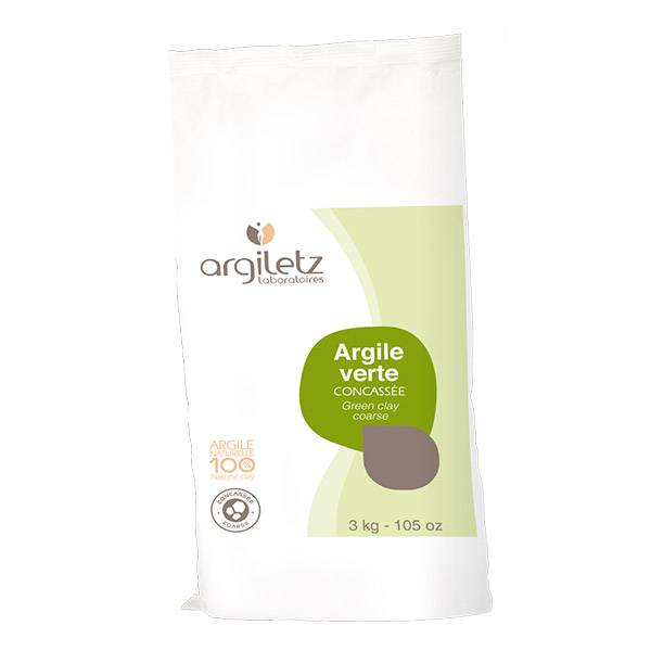 ARGILETZ Argile Verte Concassée 3Kg  Argiletz