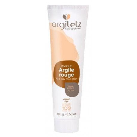 ARGILETZ Masque Argile Rouge 100 % naturelle - 100 g