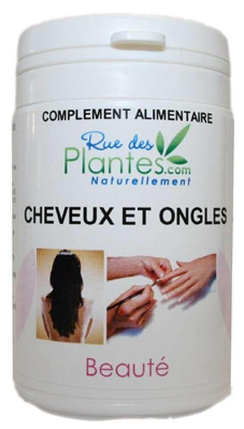 Rue Des Plantes Cheveux et Ongles 60 gélules, le zinc qui contribue au maintien...
