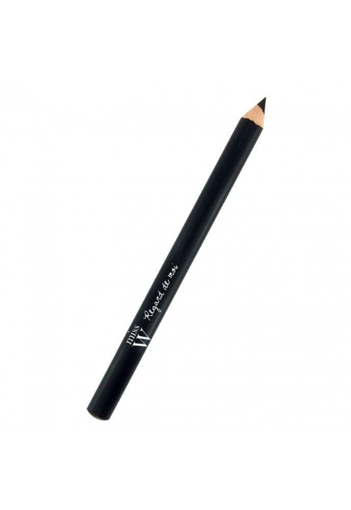 MANGANESE Crayon yeux bio n°101 - noir - miss w