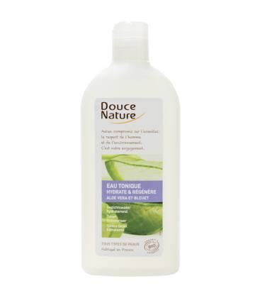 DOUCE NATURE Eau tonique à l'aloe vera bio