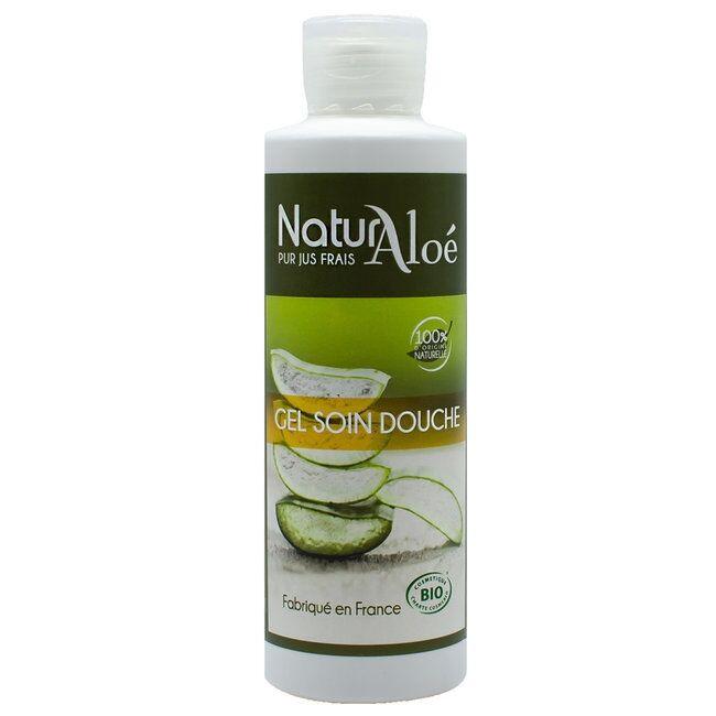 ECOCERT NATURALOE - Gel douche soin bio à l'Aloe vera 200ml
