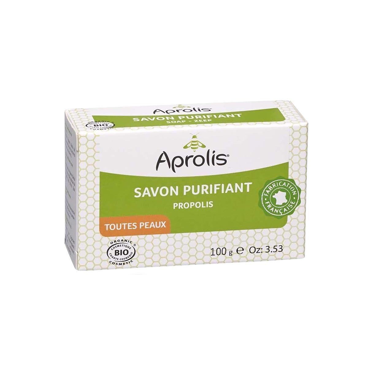 APROLIS Savon Purifiant à la Propolis 100g Bio - Aprolis