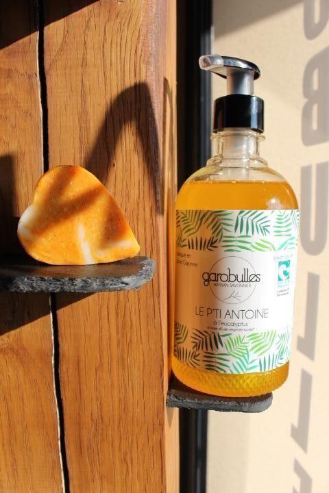 Garobulles Savon liquide pour le corps le P'Ti Antoine Eucalyptus 500 ml