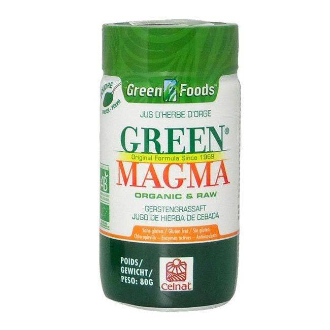 CELNAT GREEN MAGMA - Green Magma Jus d'herbe d'orge bio en poudre 80g