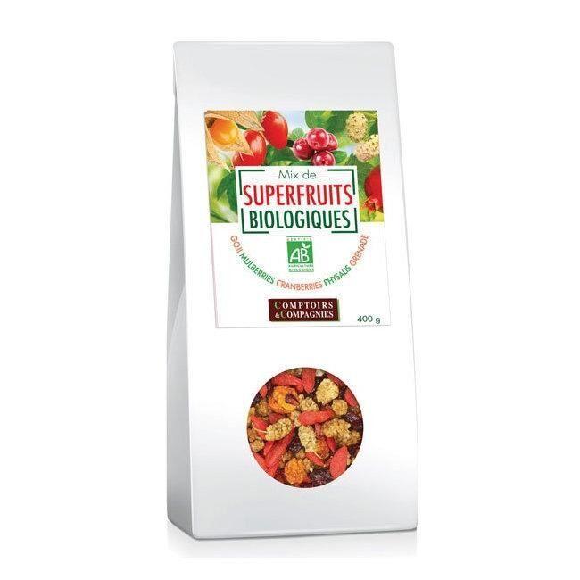 COMPTOIRS ET COMPAGNIES - Mix Superfruits bio Goji, cranberries,...