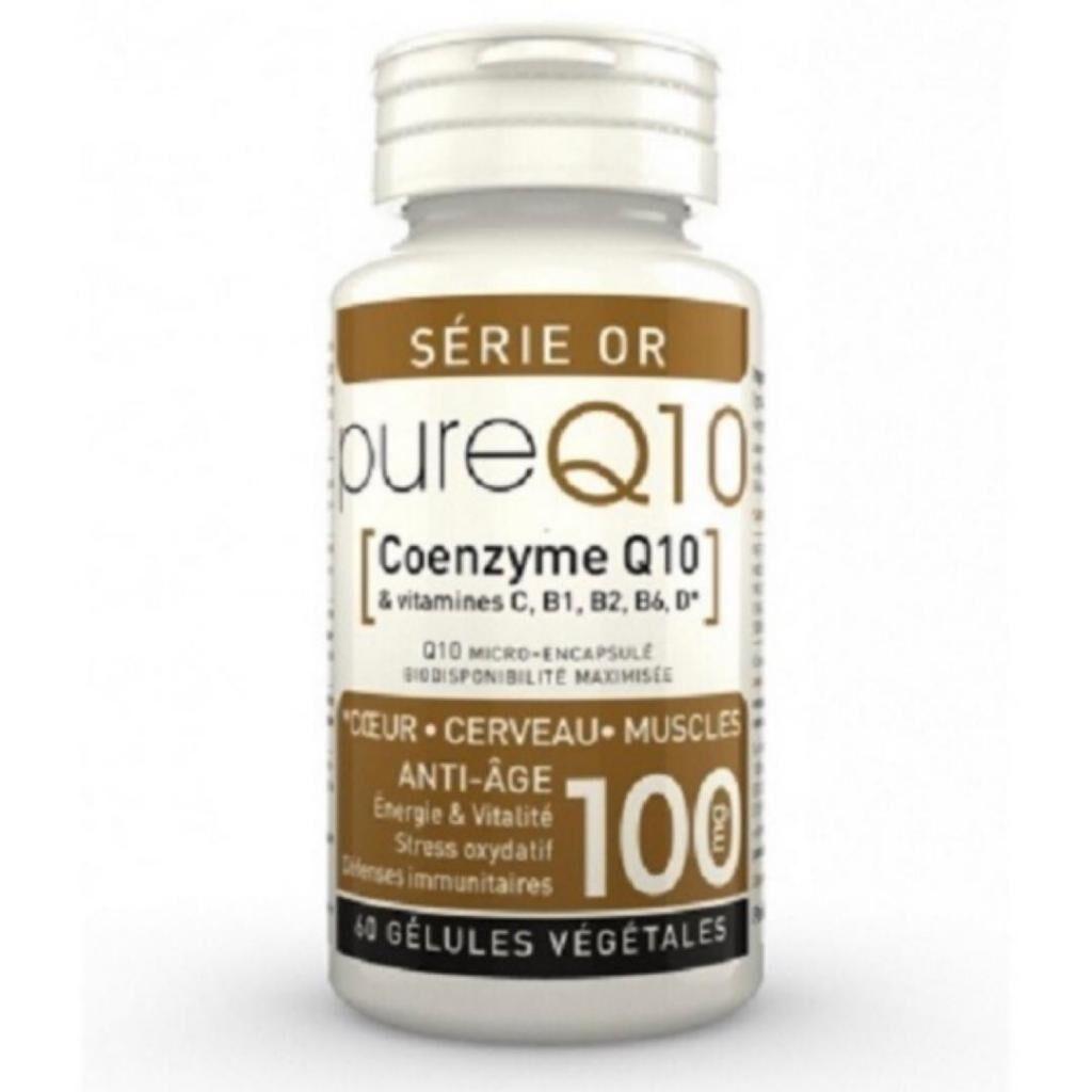 LT LABO Pure Q10 - Coenzyme Q10 - LT Labo - 60 Gélules