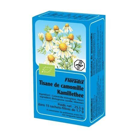 FLORADIX Tisane Camomille - 15 Infusettes - Floradix