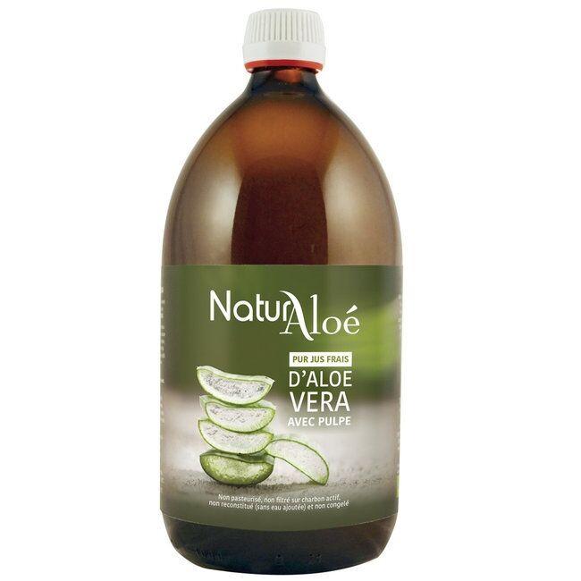 ECOCERT NATURALOE - Pulpe d'Aloe vera bio - Pur jus frais 500ml