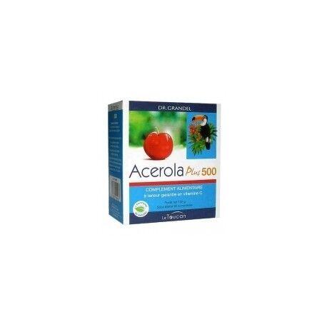 DR. GRANDEL LE TOUCAN Acerola Plus 500 - 32 Comprimés -Dr Grandel Le toucan
