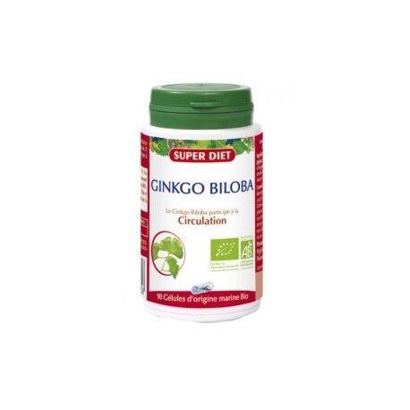 SUPERDIET Ginkgo Biloba - 90 Gélules - SuperDiet