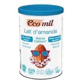 ECOMIL Lait Amandes-Calcium Instantané Nature 400g Bio - Ecomil