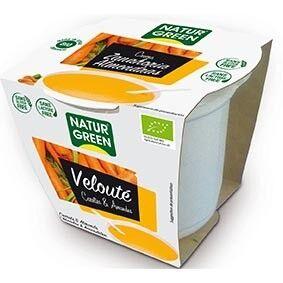NATURGREEN Soupe Carotte-Amande 310g Bio - Naturgreen