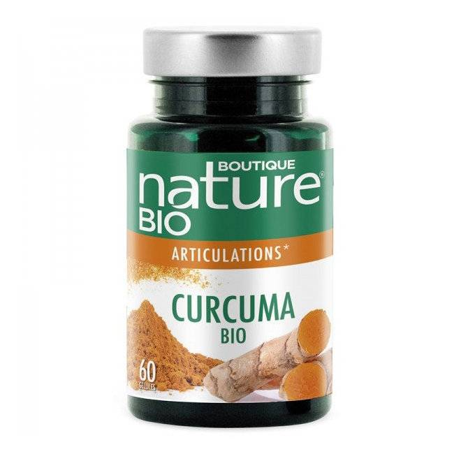 BOUTIQUE NATURE - Curcuma Poivre noir bio Anti inflammatoire - 60...