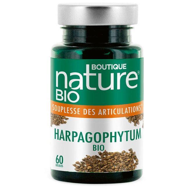 BOUTIQUE NATURE - Harpagophytum bio - Articulations - 60 gélules
