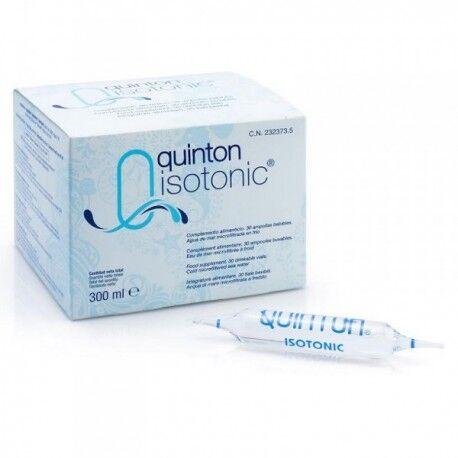 LABORATOIRE QUINTON Quinton Isotonic® - 30 Ampoules - Laboratoire Quinton