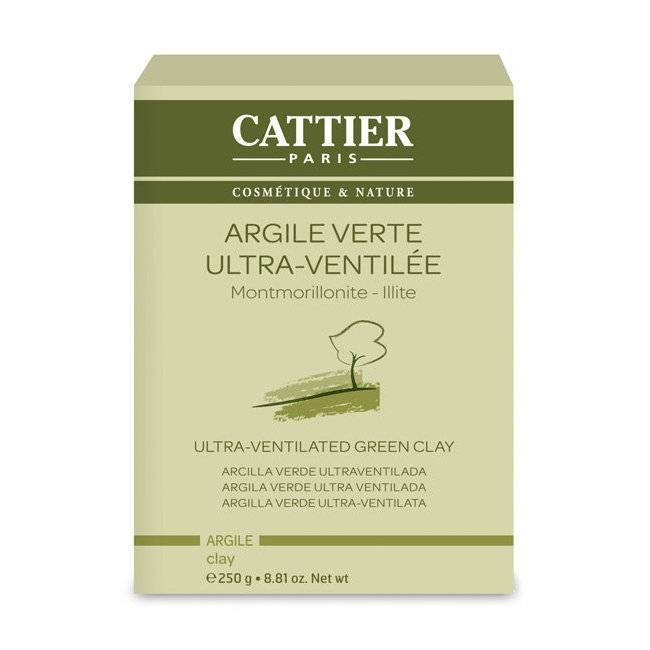 CATTIER - Argile verte ultra ventilée - Montmorillonite Illite en...