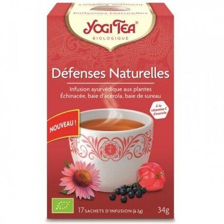 YOGI TEA Défenses Naturelles - 17 infusettes - Yogi Tea