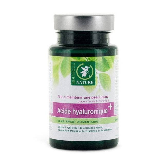 BOUTIQUE NATURE - Acide hyaluronique + - 60 gélules