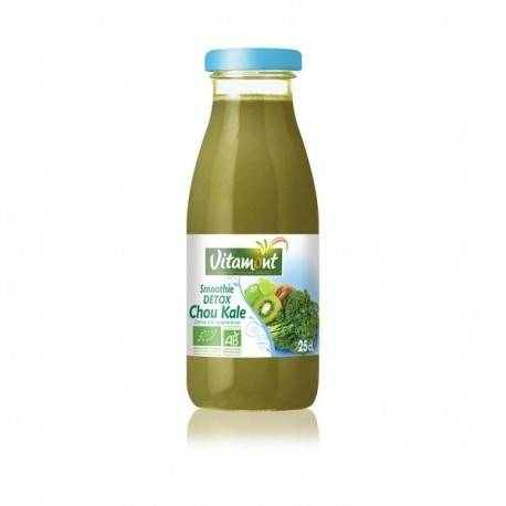 VITAMONT Smoothie Détox Bio Chou Kale 25cl - Vitamont