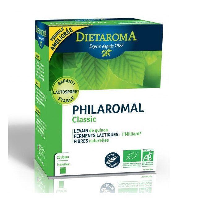 DIETAROMA - Philaromal Classic bio - Levain, Ferments lactiques et...