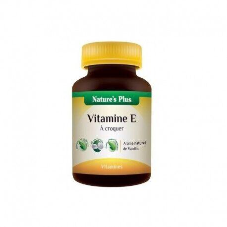 NATURE'S PLUS Vitamine E à croquer - 60 Comprimés - Nature's Plus