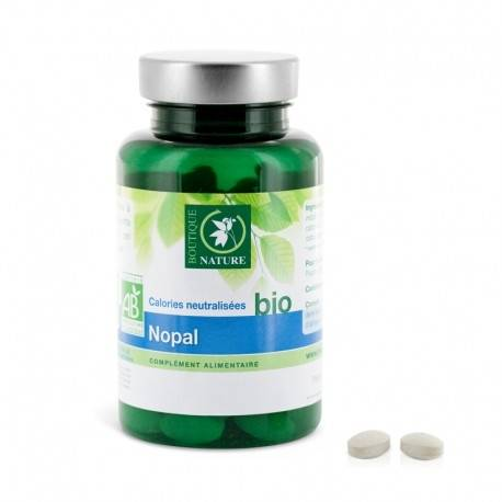 BOUTIQUE NATURE Nopal bio Complément Alimentaire - 90 comprimés - Boutique Nature