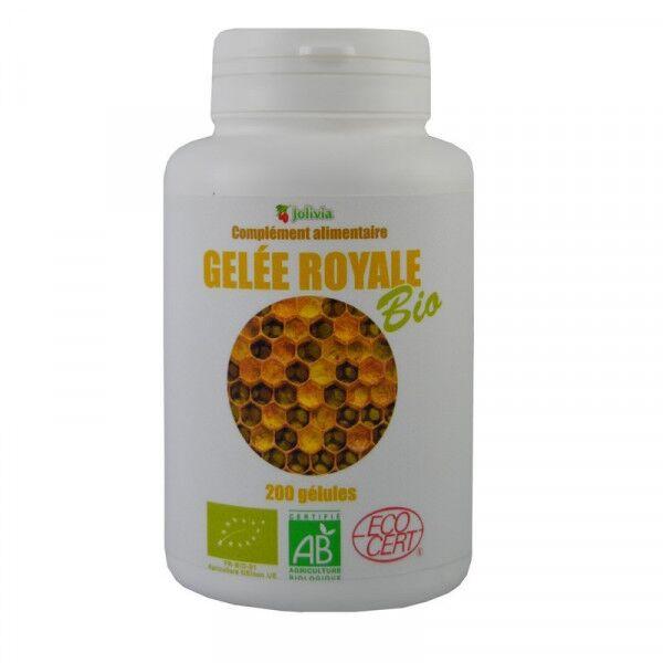 Jolivia Gelée royale Bio - 200 gélules végétales de 350 mg