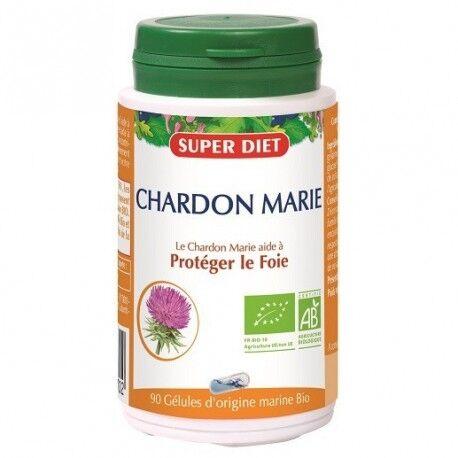 SUPERDIET Chardon Marie - Digestion - Gélules - SuperDiet