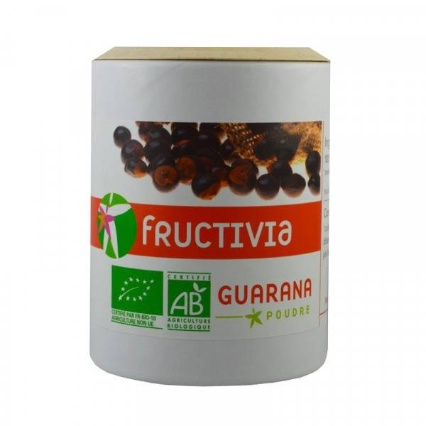 FRUCTIVIA Guarana Bio en poudre - 100 g