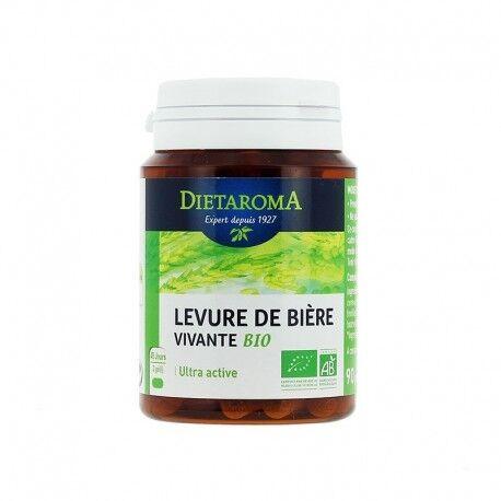 DIETAROMA - Levure de bière vivante bio - 90 gélules