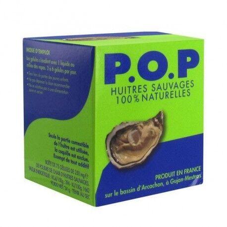 Relais Bio P.O.P. - Poudre de chair d'huître - 75 gélules