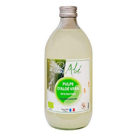 EQUITABLE Pulpe D'Aloe Vera Bio et Equitable - 500ml - Pur Aloé
