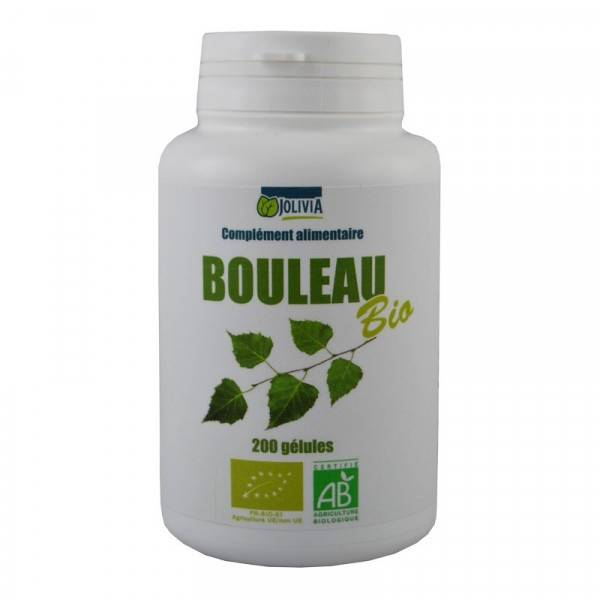ECOCERT Bouleau Bio - 200 gélules de 230 mg