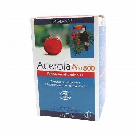 DR. GRANDEL LE TOUCAN Acerola Plus 500 - 96 Comprimés -Dr Grandel Le toucan