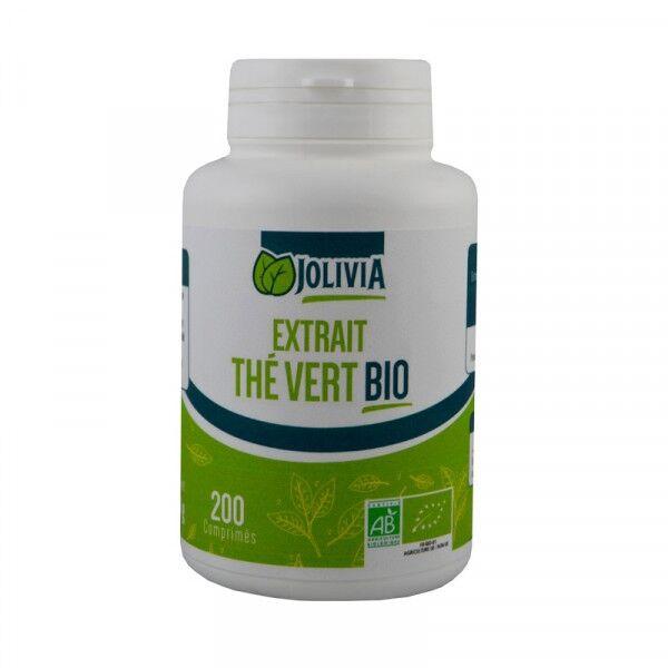 ECOCERT Extrait Thé vert Bio - 200 comprimés de 400 mg