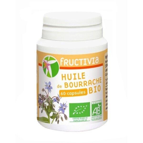 Jolivia Bourrache Bio huile 60 capsules de 500 mg