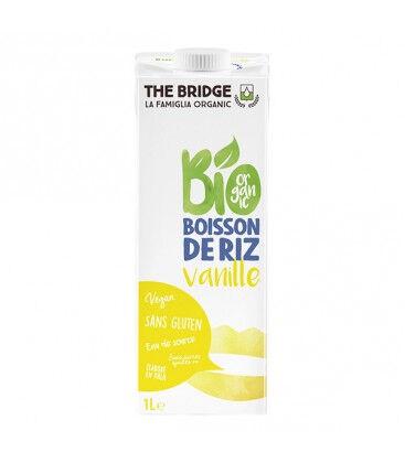 THE BRIDGE Boisson végétale de riz et de vanille bio