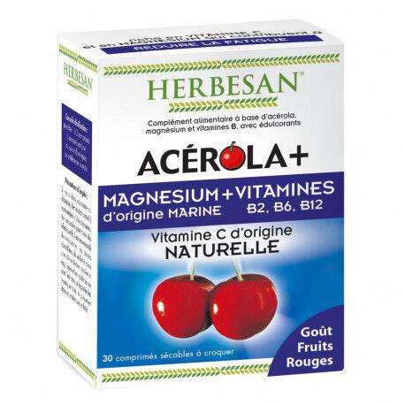 HERBESAN ACEROLA+ Magnésium & Vitamines