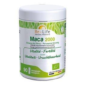 BE-LIFE Maca 2000 90 gélules Bio - Be-Life