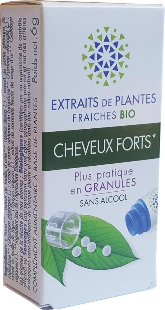 Kosmeo CHEVEUX FORTS complexe de Teinture Mère d'EPF  granules  sans...