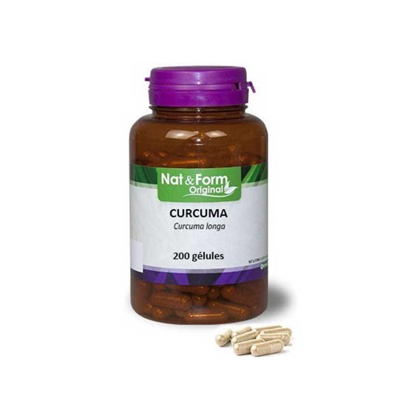 Vitaforce Curcuma digestion 200 geln nat et form original