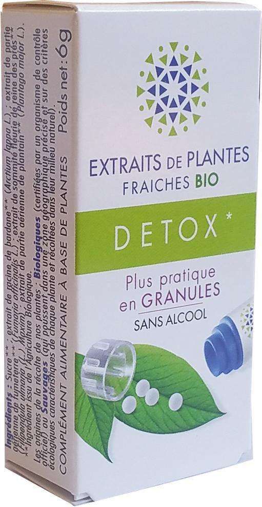 Kosmeo DETOX complexe de Teinture Mère d'EPF  granules  sans Alcool 130...