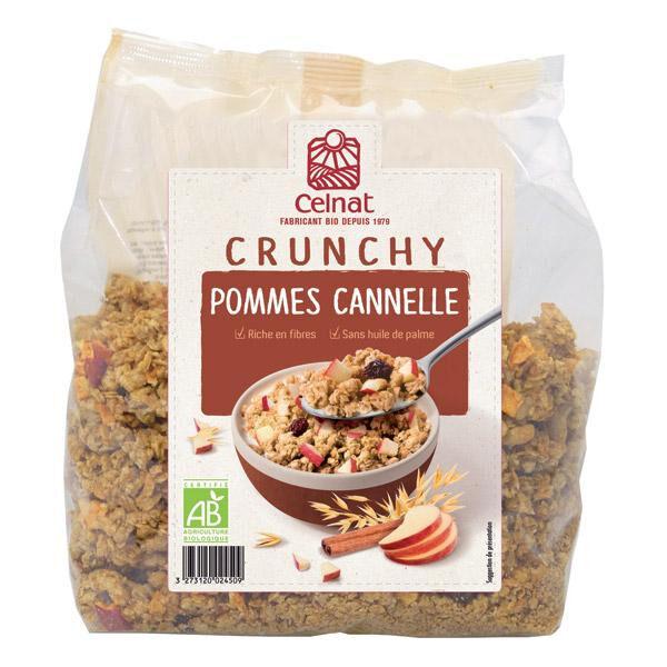 CELNAT Crunchy pommes cannelle 500g  CELNAT