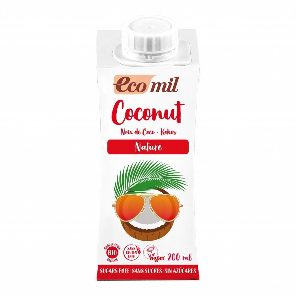 ECOMIL Lait Coco Nature 200ml Bio - Ecomil