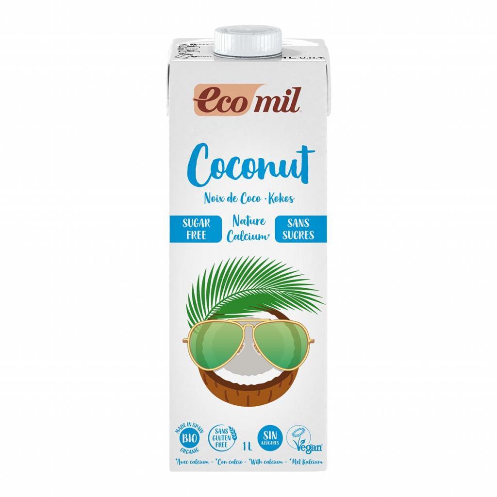 ECOMIL Lait Coco-Calcium Nature 1L Bio - Ecomil