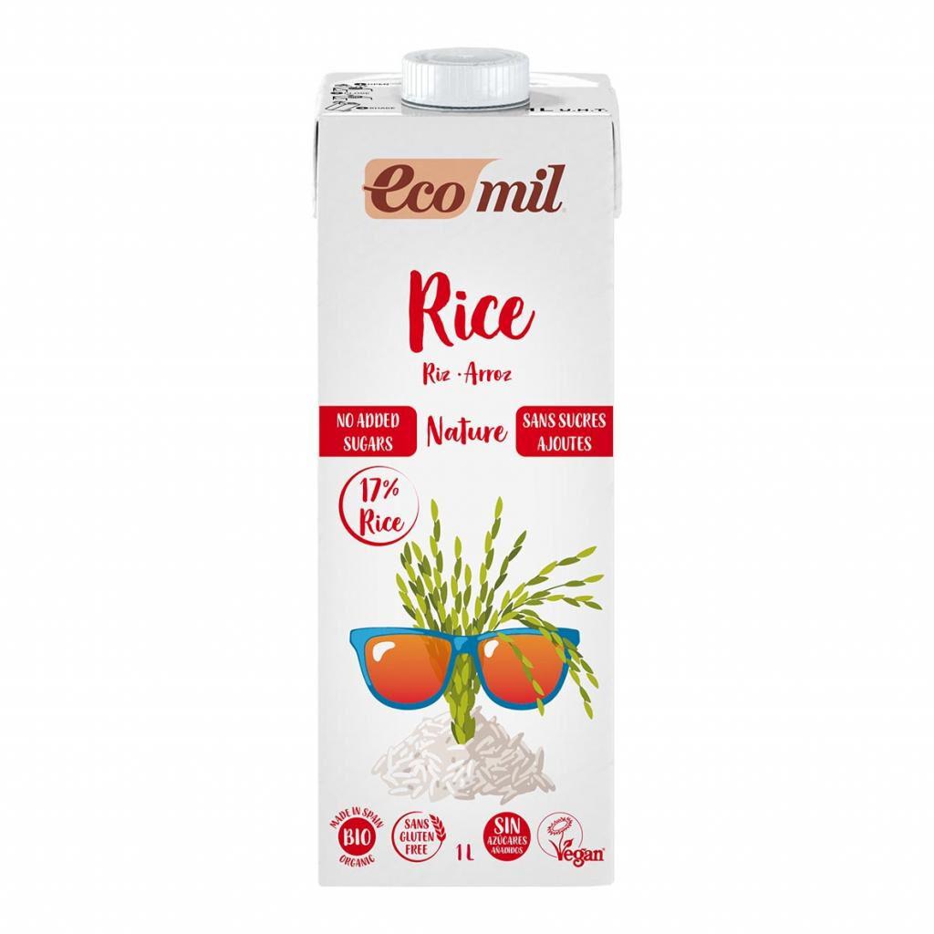 ECOMIL Boisson Riz Nature 1L Bio - Ecomil