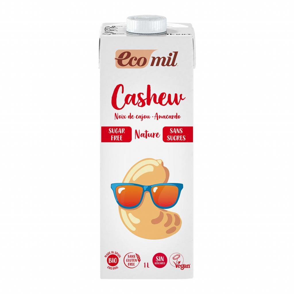 ECOMIL Boisson Noix de Cajou Nature 1L Bio - Ecomil