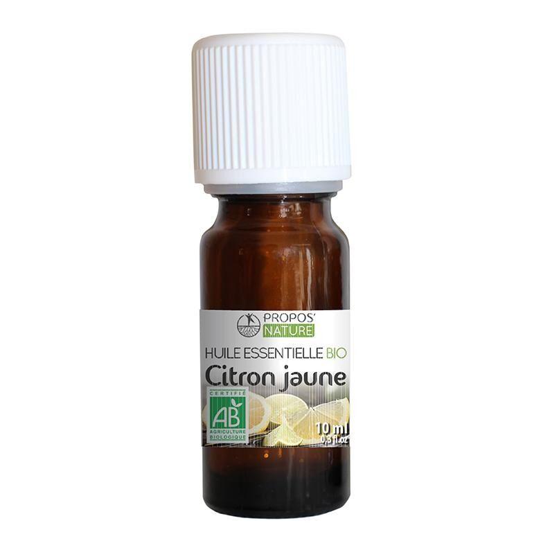 Propos'nature Citron BIO - Huile essentielle 10 ml